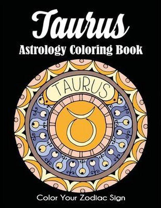 Taurus Astrology Coloring Book