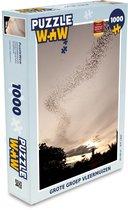 Puzzel Vleermuis 1000 stukjes - Grote groep vleermuizen