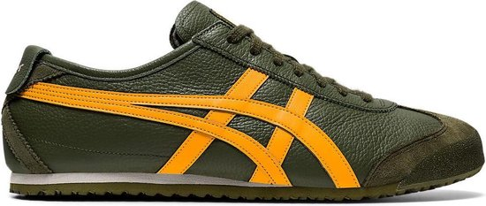 Onitsuka Tiger Mexico 66 Unisex Sneakers - Smog Green/Amber - Maat 41.5