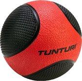 Tunturi Medicine Ball - Medicijnbal - 3kg - Rood/Zwart - Rubber