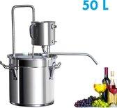 50 liter Distilleerketel   Likeur , Alcohol, Etherische Olie en Moonshine Maken   Destilleren   Destilleerketel   Destilleerapparaat   Duurzaam Materiaal