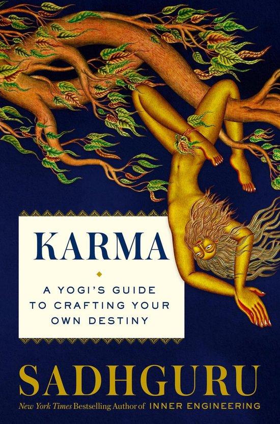 Boek cover Karma van Sadhguru (Hardcover)