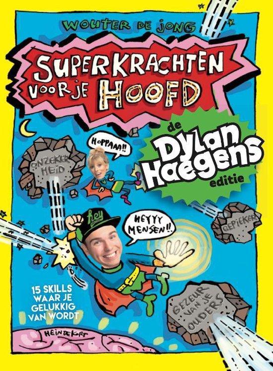 Boek cover Superkrachten voor je hoofd van Wouter de Jong (Hardcover)