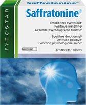 Fytostar Saffratonine – Voor positieve instelling – Voedingssupplement bij stress of negatieve gevoelens – 30 capsules