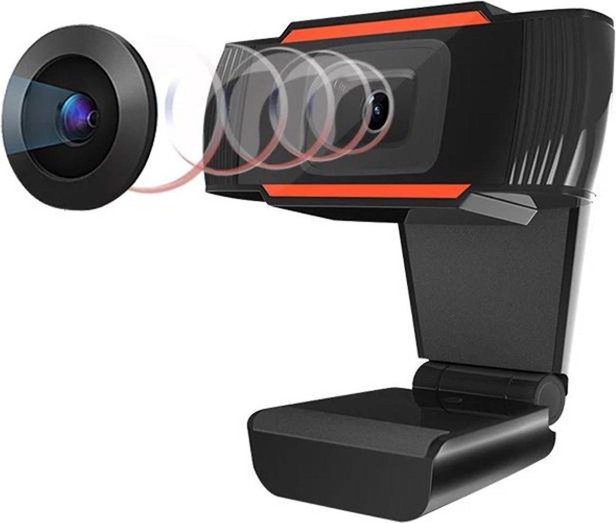 Webcam Full HD- Webcam Full HD 1280P*720P- Webcam voor PC Camera- Usb Webcam- Microfoon Webcam- Webcam Laptop