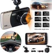 TecEye Dashcam voor Auto Full HD - Dashboard Camera - Parkeermodus - Nachtzicht - Voor & Achter- Inclusief 32GB SD Kaart - Dashcam Voor Auto-