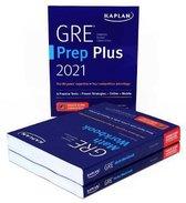 GRE Complete 2021: 3-Book Set