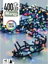 Gekleurde kerstlichtjes - microcluster - 8 meter -