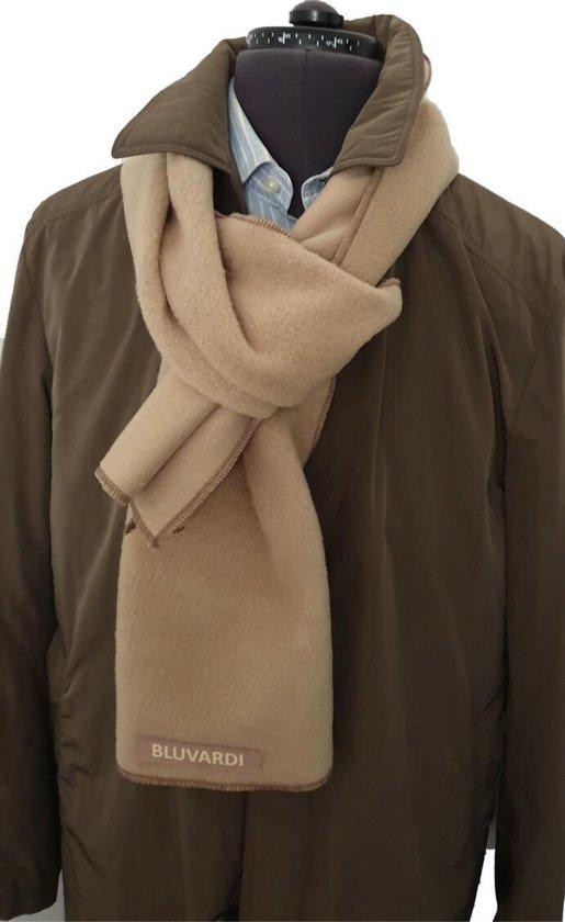 Bluvardi- Antipilling Fleece Sjaal -Light Bruin