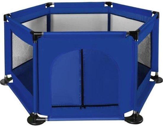 Product: Kinderbox Hekwerk Mesh Zeshoekig Wasbaar - Blauw, van het merk iso trade