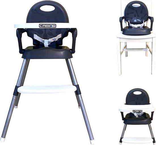 Product: Cabino Kinderstoel 3 in 1 Verstelbaar Grijs, van het merk cabino
