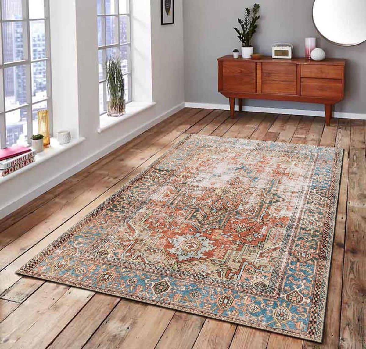 Herms-Pop Art Man 3 Patterned Carpet-Vloerkleed-Antislip-160x230 cm