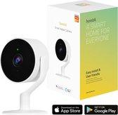 Hombli Slimme Indoor Beveiligingscamera met WiFi - Bewegingsdetectie - Wit