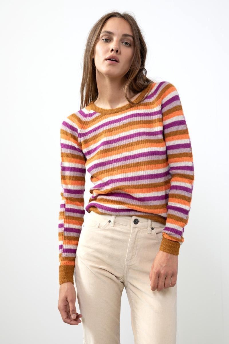 Sissy-Boy - Mulitcolor trui alpacawol