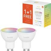 Hombli Slimme verlichting spot - (5W) RGB+CCT - Promo Pack 1+1