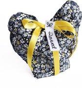Revived - herbruikbaar cadeauzakje van textiel - duurzame kadoverpakking - het alternatief voor cadeaupapier