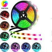 LED-strip - 5m - multi-colour - met afstandsbediening