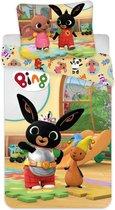 Bing Bunny Baby Dekbedovertrek Speeltijd - 100 x 135 cm - Multi