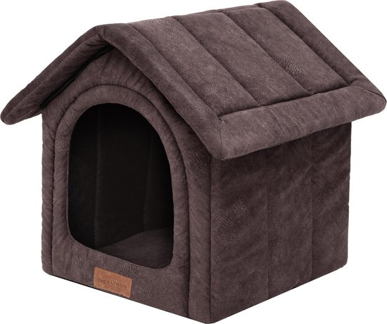Dogs Lifestyle hondenhuisje misty bruin