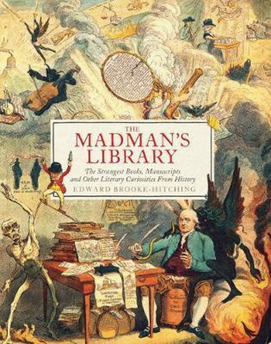 Boek cover The Madmans Library van Edward Brooke-Hitching (Hardcover)