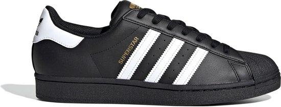 adidas Sneakers - Maat 36 2/3 - Unisex - zwart,wit