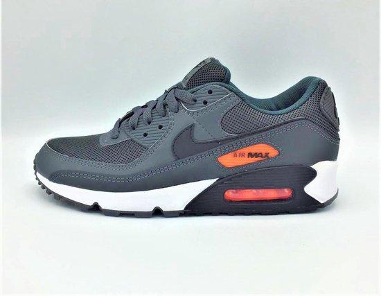 Nike Air Max 90 - Dark Grey/Orange - Maat 41