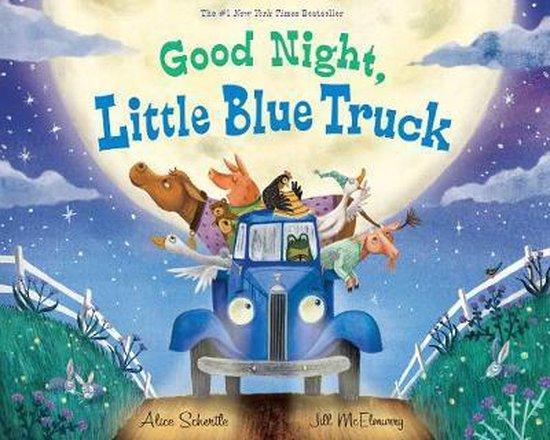 Boek cover Good Night, Little Blue Truck van Alice Schertle (Hardcover)
