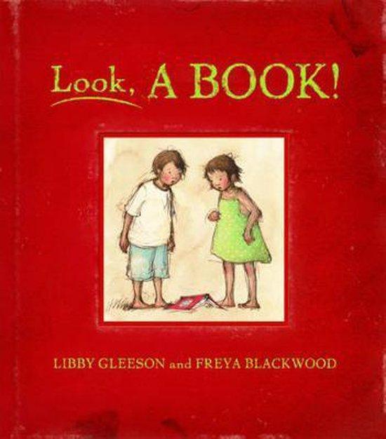 Boek cover Look, a Book! van Libby Gleeson (Hardcover)