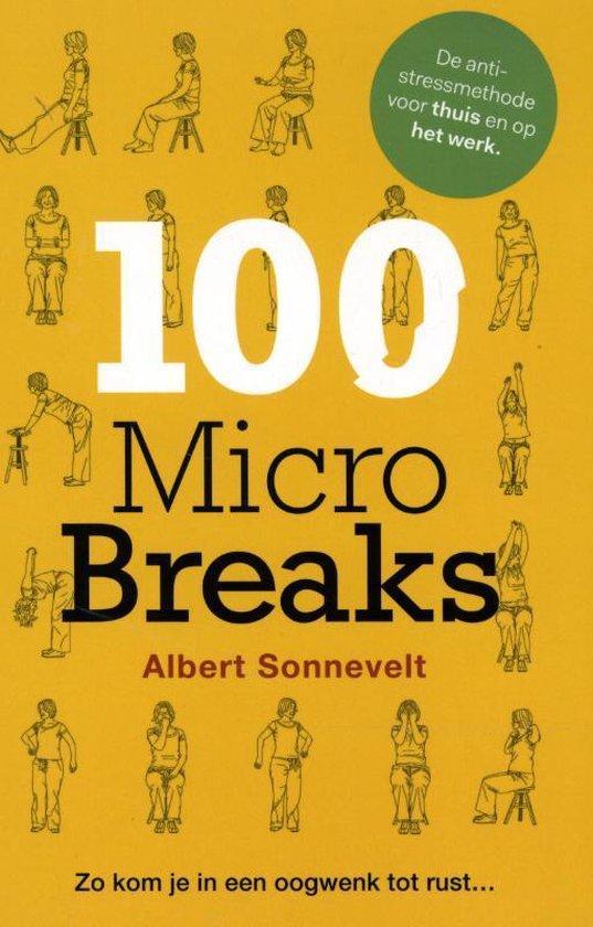 Cover van het boek '100 microbreaks' van Albert Sonnevelt