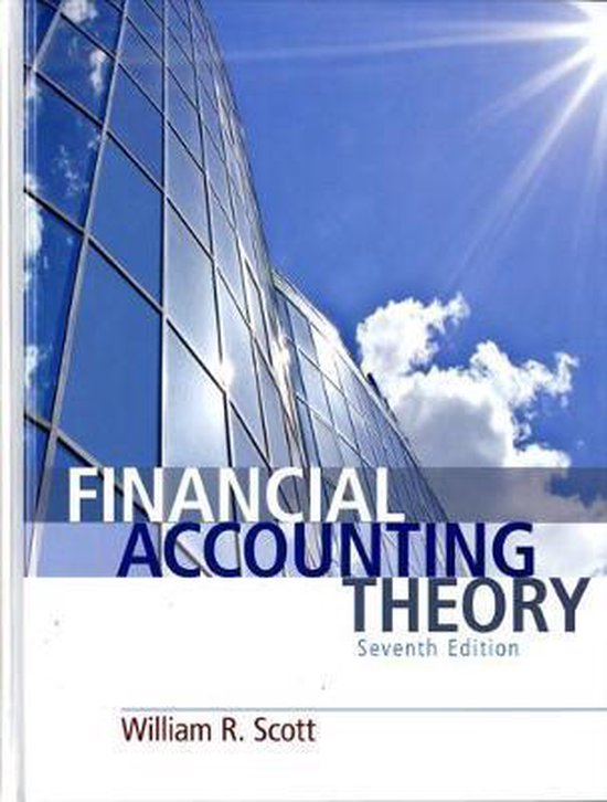 Boek cover Financial Accounting Theory van Carl Warren (Hardcover)