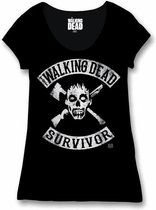 THE WALKING DEAD - T-Shirt Survivor - GIRL (XL)