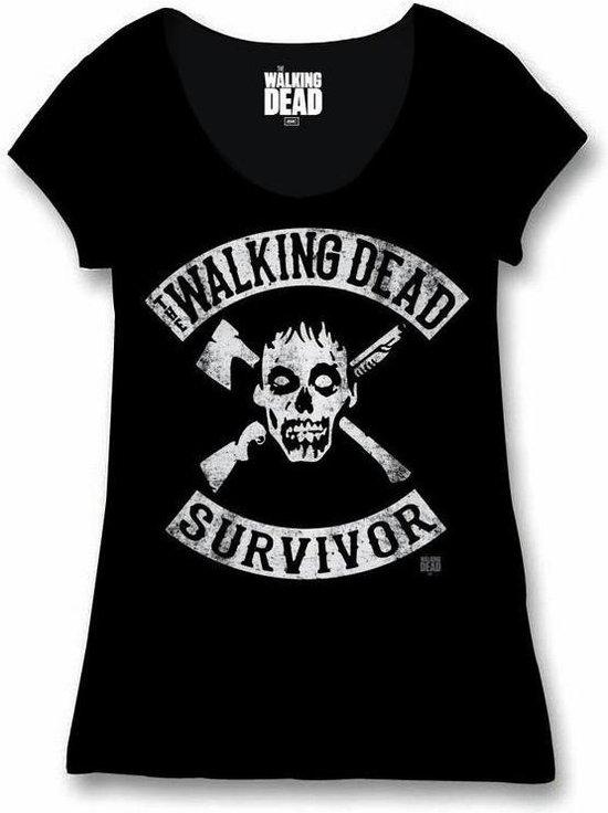 THE WALKING DEAD - T-Shirt Survivor - GIRL (XL)