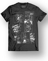 ASTERIX & OBELIX - T-Shirt - Multi Cell - Black (XL)