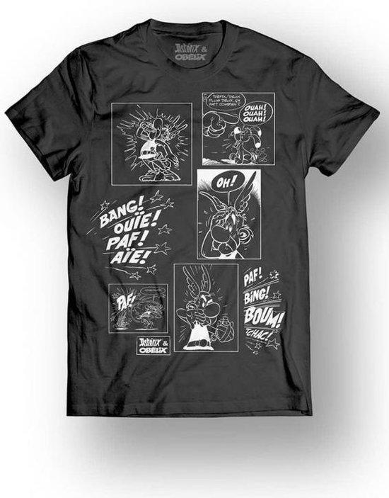 ASTERIX & OBELIX - T-Shirt - Multi Cell - Black (XL)