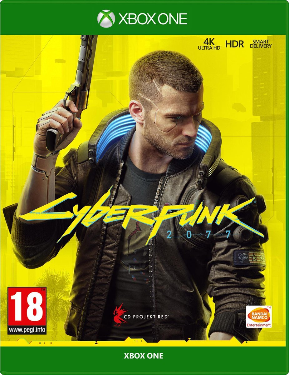 Cyberpunk 2077  - Day One Edition -  Xbox One & Xbox Series X - Bandai Namco