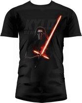 STAR WARS 7 - T-Shirt Kylo Lightsaber - Black (XXL)