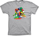RUBIK'S - T-Shirt Melting Ribik's - MEDIUM GREY (L)