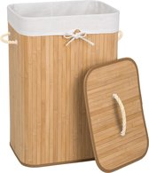 Bamboe wasmand incl. waszak - 72L - naturel