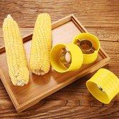 Mais Stripper - Mais Peller - Corn Stripper - Groente Accessoire - Mais Remover - Keuken Gadget - Huishoudelijke Tool - Geel