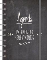 Hobbit Agenda - A6 - Spiraal - Krijtbord - 2021