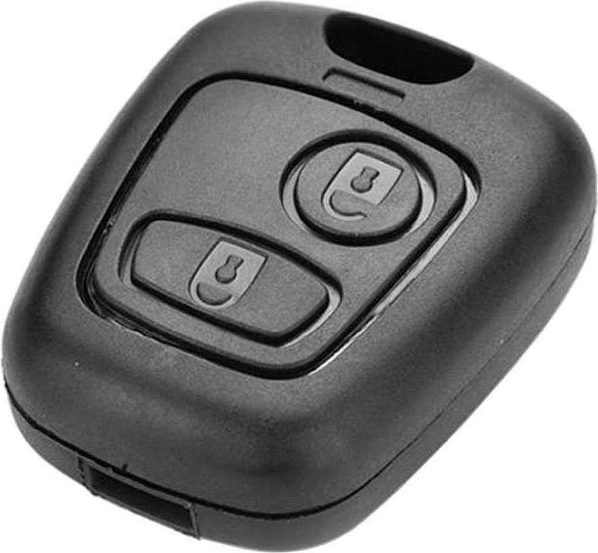 Autosleutelbehuizing - sleutelbehuizing auto - sleutelhoes - Autosleutel - Peugeot, Citroën en Toyot