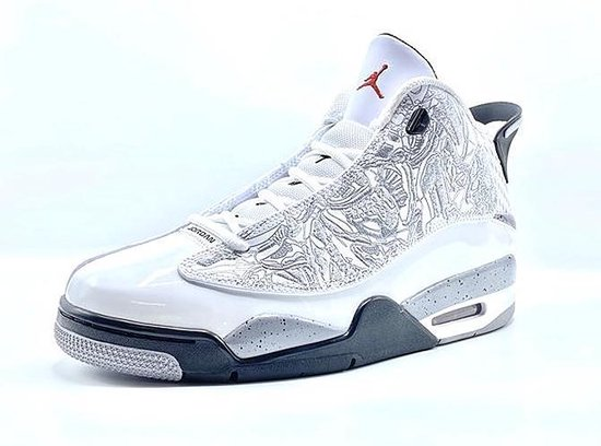 Air Jordan DUB Zero (White Cement) - Maat 52.5