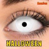 KawaEyes Kleurlenzen Halloween Fluo White - Incl. Lenzendoosje