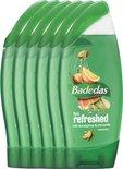 Badedas Feel Refresh Douchegel - 6 x 250ml - Voordeelverpakking
