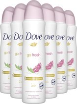Dove Go Fresh Anti-transpirant Deodorant Pomegranate 6 x 150 ml - Voordeelverpakking
