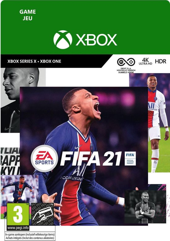 FIFA 21 Standard Edition - Xbox Series X/S/Xbox One Download