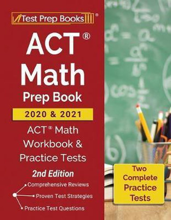 ACT Math Prep Book 2020 and 2021