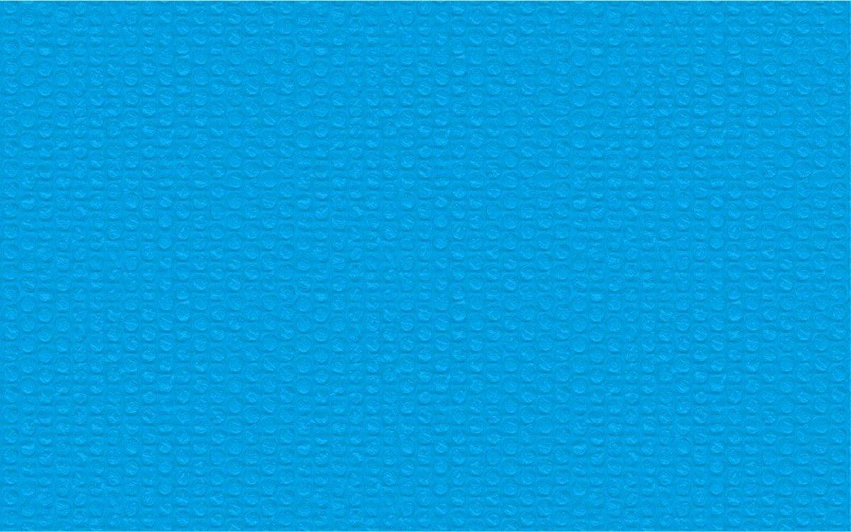 tectake - Zwembadafdekking zonnefolie blauw rechthoekig 160 x 260 cm - 403101