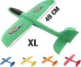 Vliegtuigje Strand Speelgoed - Groen - XL - Piepschuim Vliegtuig