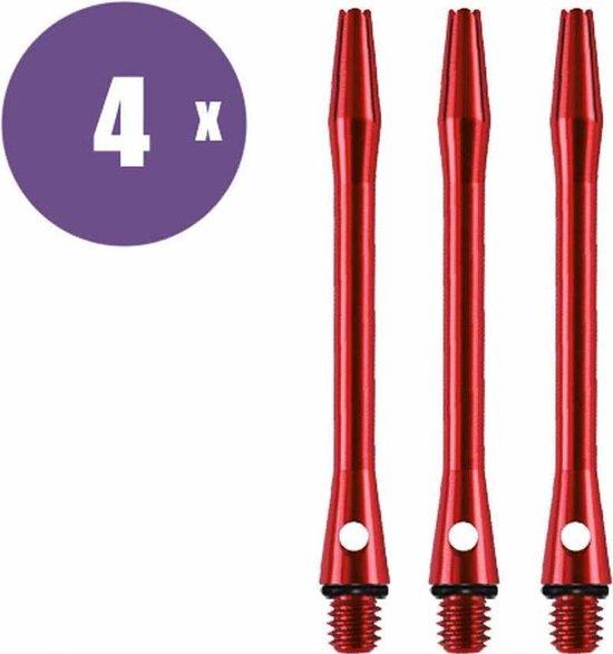 ABC Darts Shafts - Aluminium Rood - Medium - 4 sets dartshafts